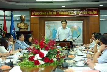Tổng giám đốc PVN Lê Mạnh Hùng làm việc với PV Power
