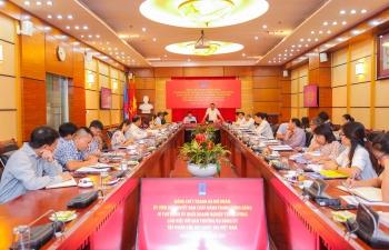 Bí thư Đảng ủy Khối DNTW làm việc với Ban Thường vụ Đảng ủy Tập đoàn