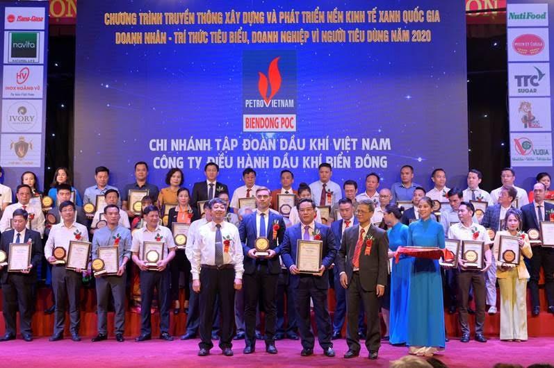 BIENDONG POC được vinh danh tại Chương trình Doanh nghiệp - Doanh nhân học tập và làm theo lời Bác