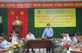 Công đoàn Ban QLDA ĐLDK Long Phú 1 sơ kết hoạt động công đoàn giữa nhiệm kỳ 2017-2022