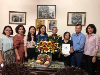 Công đoàn Dầu khí Việt Nam thăm và tri ân Anh hùng Lực lượng vũ trang La Văn Cầu