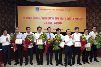 Gặp mặt nhân dịp kỷ niệm 40 năm Ngày thành lập Tập đoàn Dầu khí Việt Nam