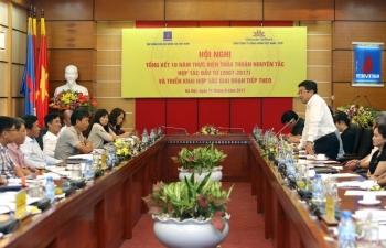Tổng kết 10 năm hợp tác PVN - Vietnam Airlines