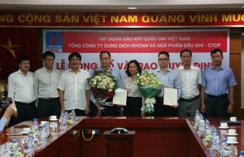 DMC trao quyết định bổ nhiệm Phó Tổng giám đốc, Kế toán trưởng