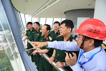 Học viện Lục quân thăm và làm việc tại NMLD Dung Quất