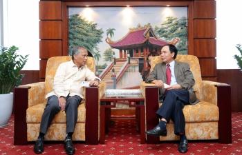 Bộ trưởng Bộ Năng lượng Philippines thăm và làm việc với Petrovietnam
