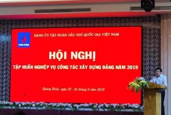 Đảng ủy Tập đoàn tổ chức Hội nghị tập huấn công tác Đảng năm 2019