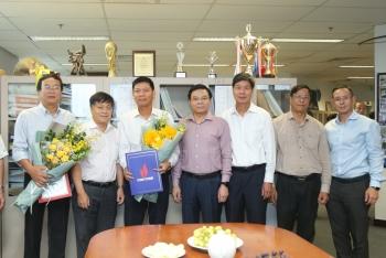 PVN công bố và trao quyết định lãnh đạo các Ban Tìm kiếm Thăm dò, Ban Khai thác Dầu khí và Ban Điện
