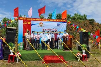 BSR tài trợ 2 tỷ đồng xây dựng nhà Đại đoàn kết cho nhân dân tỉnh Quảng Ngãi