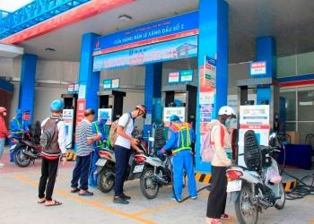 Giá các loại xăng dầu thông dụng tăng chưa đến 1.000 đồng/lít