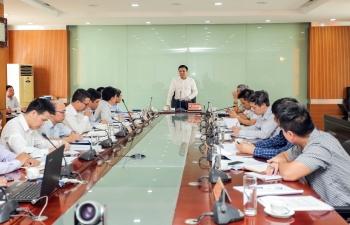 Tổng giám đốc PVN Lê Mạnh Hùng kiểm tra tình hình hoạt động sản xuất các đơn vị tại Hải Phòng