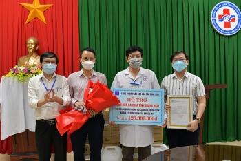 BSR hỗ trợ vật tư y tế cho Bệnh viện Đa khoa tỉnh Quảng Ngãi