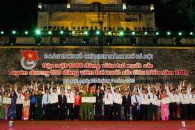 Gặp mặt 1.000 Đảng viên trẻ tiêu biểu Thủ đô năm 2013