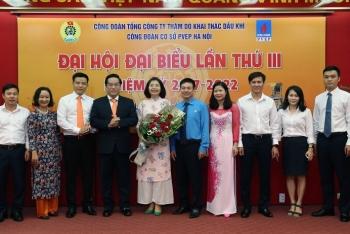 Công đoàn cơ sở PVEP Hà Nội tổ chức Đại hội lần thứ III