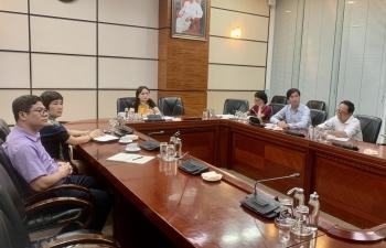 Công đoàn Dầu khí Việt Nam họp trực tuyến với Công đoàn PVOIL