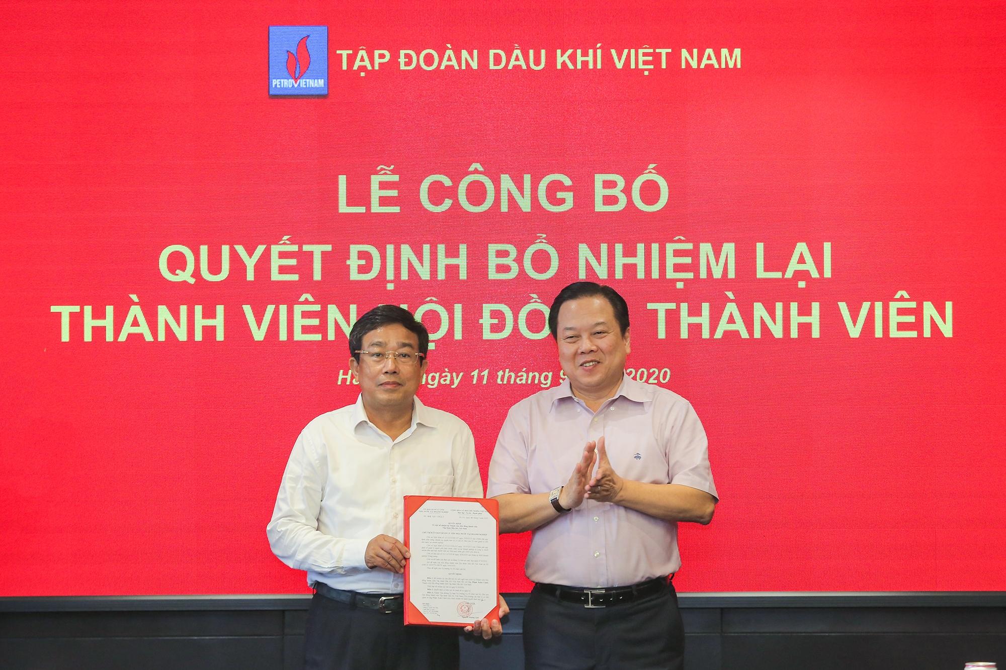 cong-bo-quyet-dinh-bo-nhiem-lai-thanh-vien-hoi-dong-thanh-vien-pvn-1