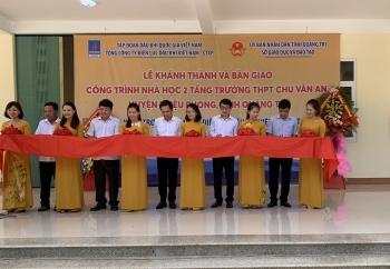 PV Power khánh thành và bàn giao công trình trường học tại Quảng Trị