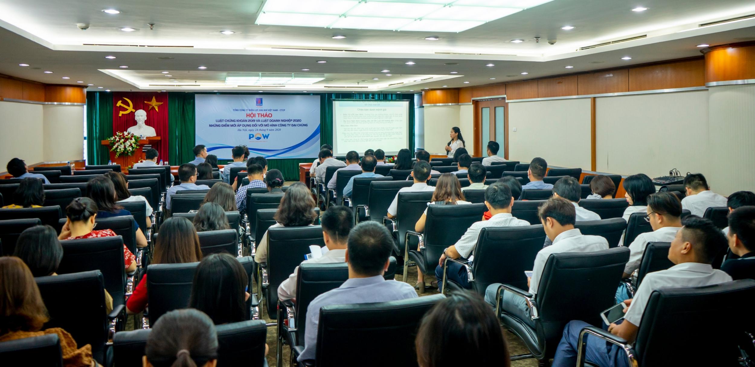 PV Power tổ chức Hội thảo