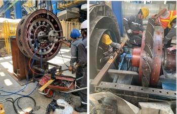 PV Power Services tăng cường nguồn lực đảm bảo khởi động lại tổ máy 2 NMNĐ Vũng Áng 1