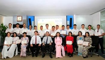 PVEP bế giảng khóa học tiếng Anh chuyên ngành Dầu khí dành cho cán bộ, nhân viên