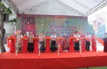 PVN, PV GAS khánh thành, bàn giao công trình Nhà văn hóa tại Hưng Yên