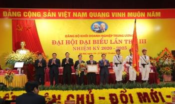 Khai mạc Đại hội đại biểu Đảng bộ Khối Doanh nghiệp Trung ương lần thứ III, nhiệm kỳ 2020 - 2025