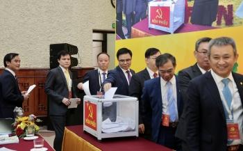 Đồng chí Lê Mạnh Hùng trúng cử Ban Chấp hành Đảng bộ Khối Doanh nghiệp Trung ương nhiệm kỳ 2020 - 2025