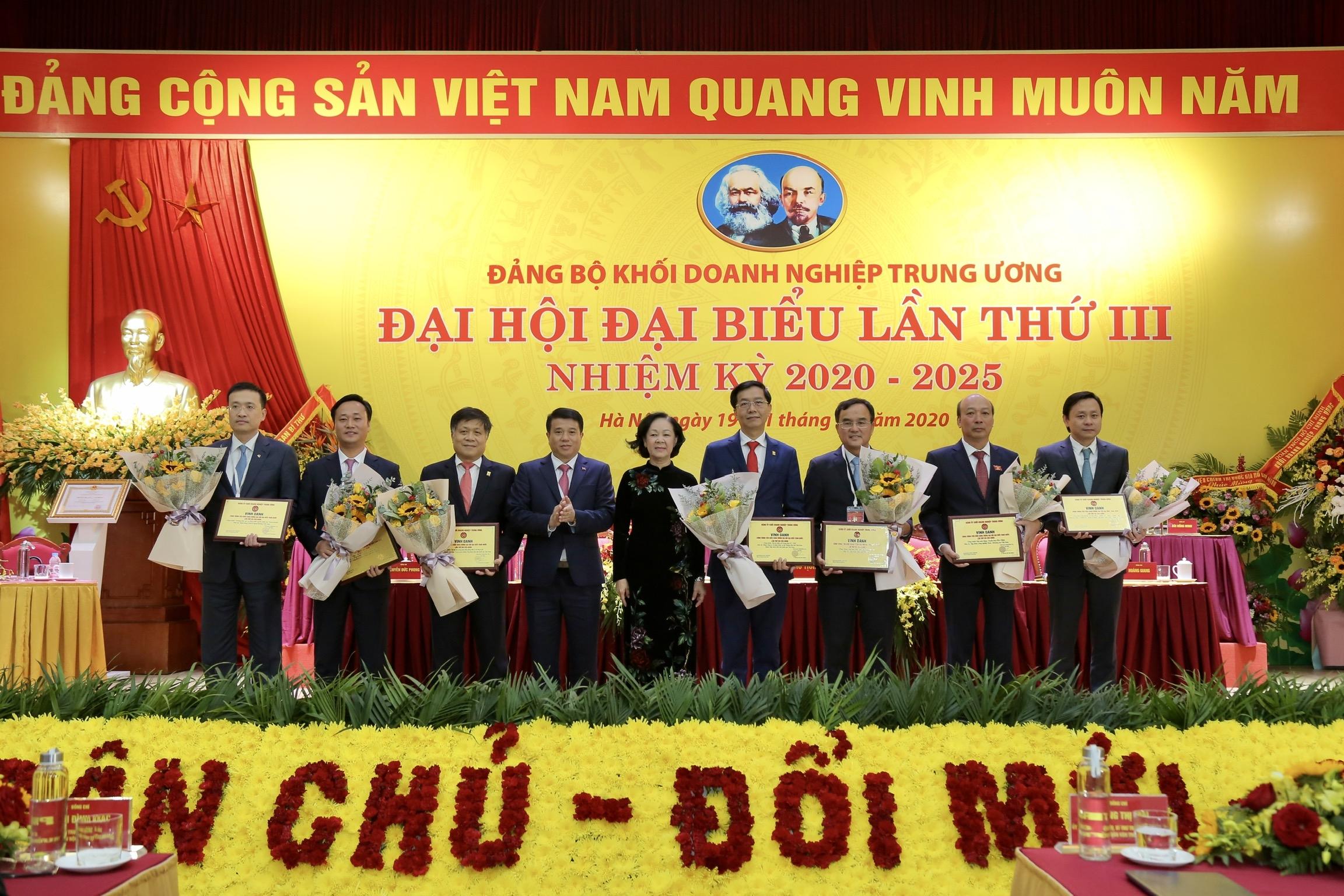 Đại hội đại biểu Đảng bộ Khối Doanh nghiệp Trung ương lần thứ III, nhiệm kỳ 2020   2025 thành công tốt đẹp