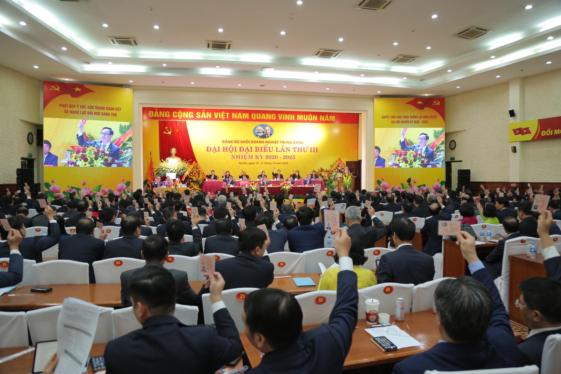 Đại hội Đảng bộ Khối Doanh nghiệp Trung ương thành công tốt đẹp