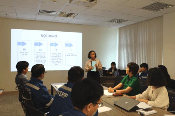 CĐ DKVN tập huấn công tác chính sách pháp luật năm 2020 cho Công đoàn NSRP