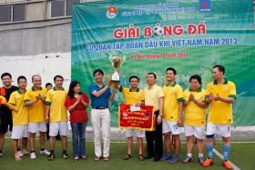 Giải bóng đá Cơ quan PVN có nhà vô địch mới