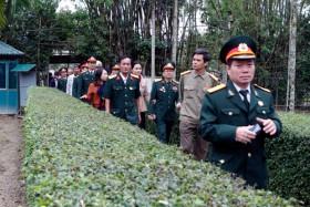 Hội CCB PVN thăm quê hương Bác Hồ