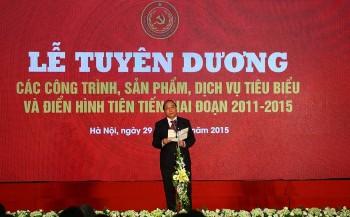 Đảng ủy Khối DNTƯ tuyên dương tập thể, cá nhân tiêu biểu