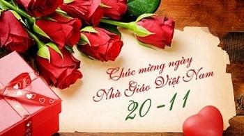 Lãnh đạo PVN gửi thư chúc mừng nhân ngày Nhà giáo Việt Nam 20/11