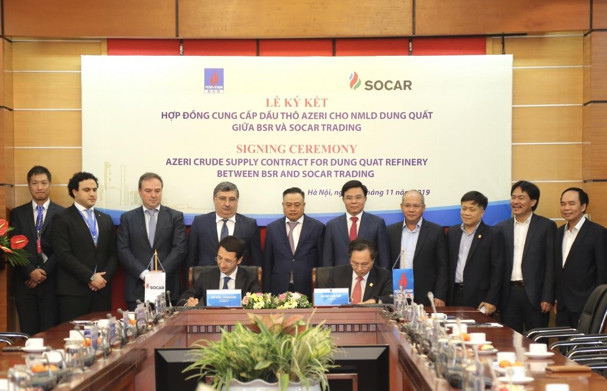 BSR ký kết hợp đồng mua dầu thô từ Azerbaijan