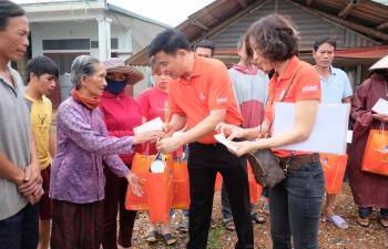 Đoàn công tác xã hội PVEP đến với đồng bào miền Trung