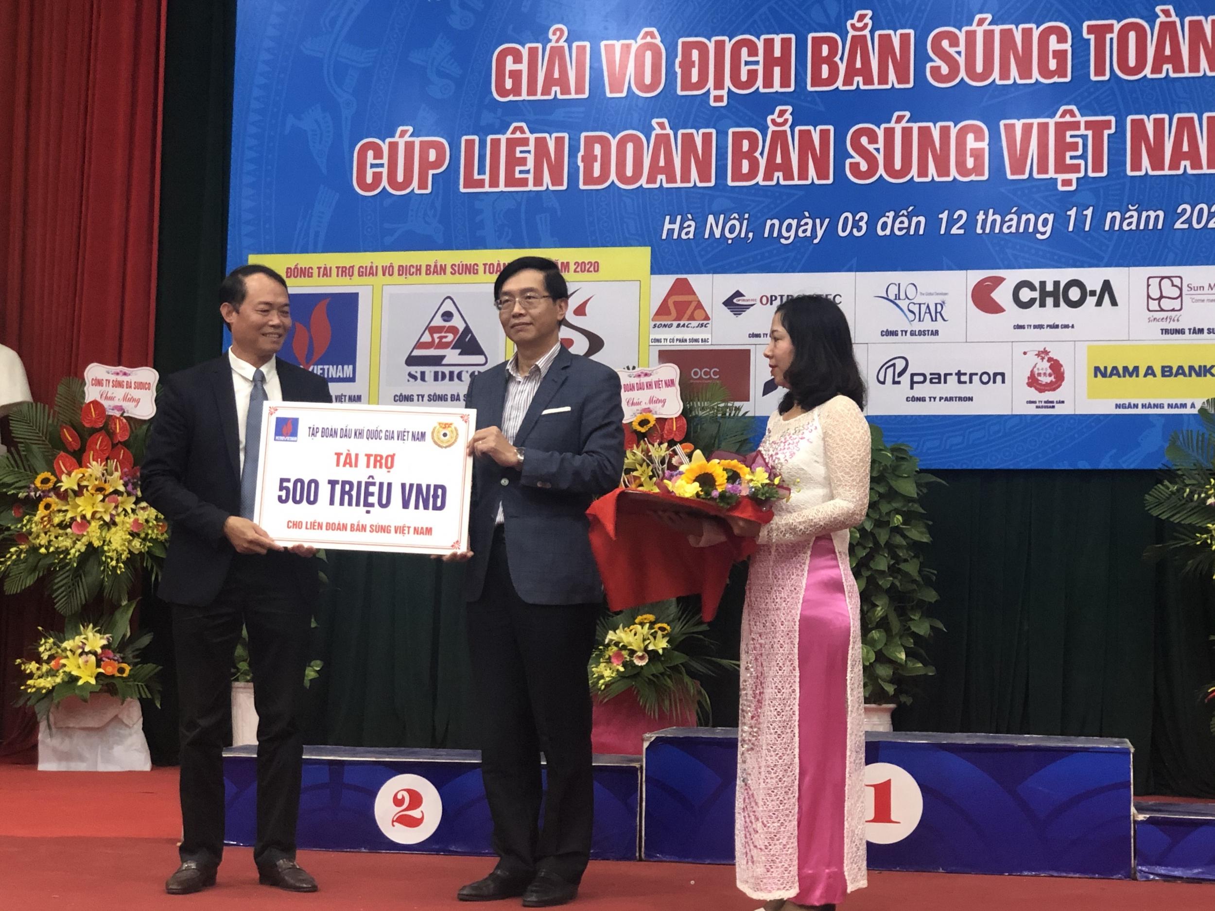 Petrovietnam đồng hành cùng Giải vô địch Bắn súng toàn quốc - Cúp Liên đoàn Bắn súng Việt Nam năm 2020
