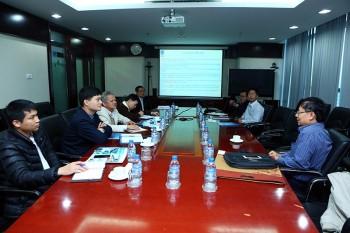 Ban KHCN PVN làm việc với đoàn công tác của EVN