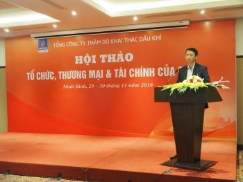 pvep to chuc hoi thao ve cong tac to chuc thuong mai va tai chinh
