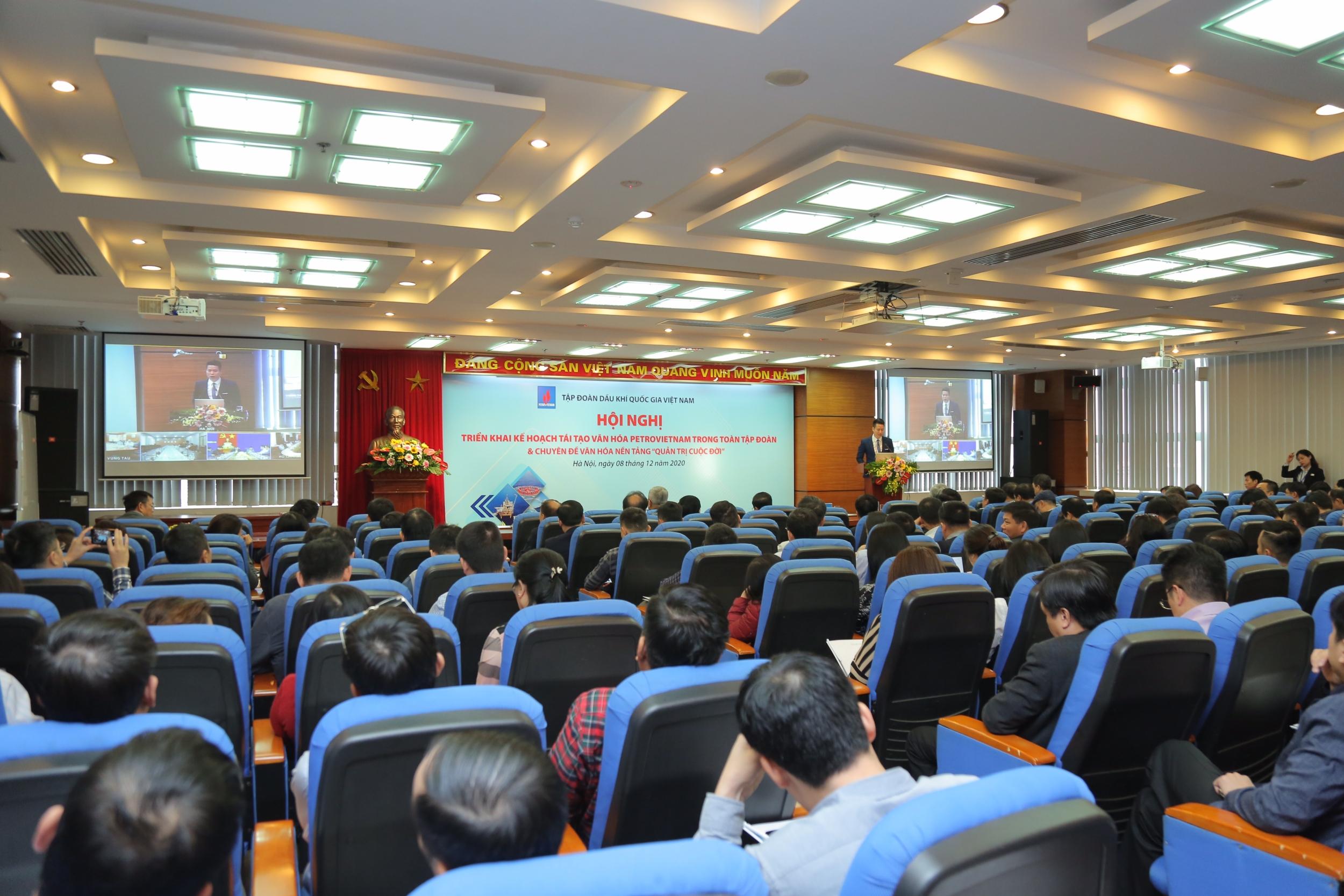 Triển khai thống nhất Đề án Tái tạo văn hoá Petrovietnam trong toàn Tập đoàn