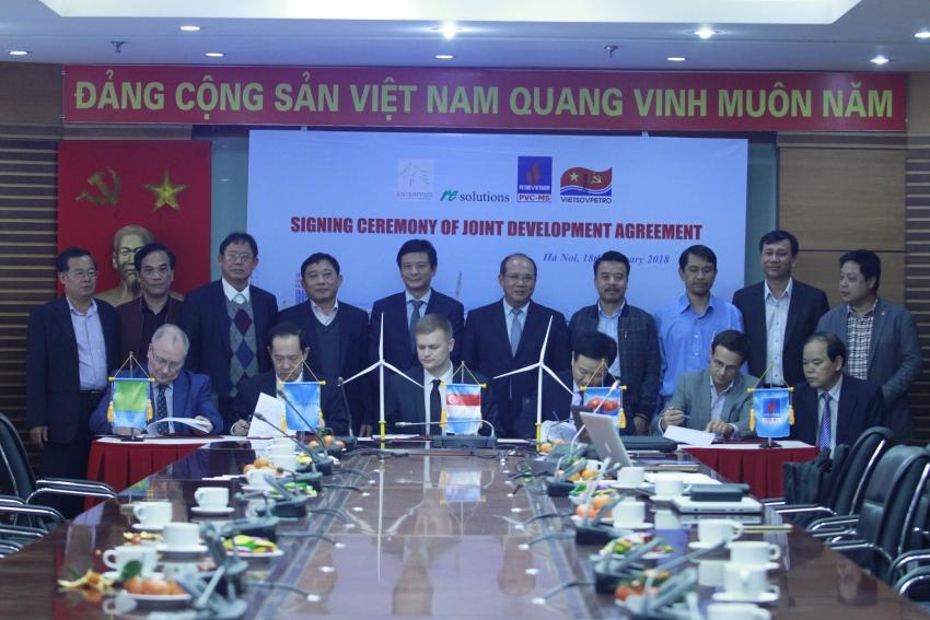 Ký kết Thỏa thuận cùng phát triển Dự án điện gió Kê Gà