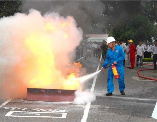 """Người lao động dầu khí với tinh thần """"An toàn là trên hết"""""""