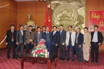 Một số hình ảnh lãnh đạo PVN chúc tết tại tỉnh Thái Bình