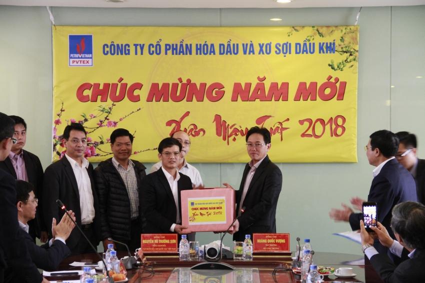 lanh dao bo cong thuong pvn lam viec voi pvtex