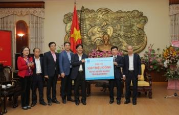 Petrovietnam ủng hộ chương trình Tết vì người nghèo tỉnh Nam Định 500 triệu đồng