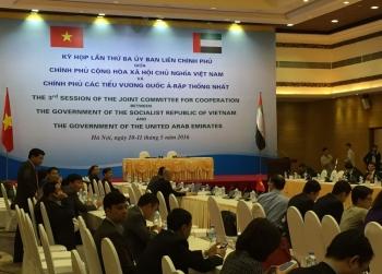 Việt Nam - UAE đồng chỉ trì họp lần 4 và tổ chức Diễn đàn doanh nghiệp hai nước