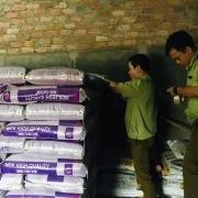 Phát hiện gần 10 tấn phân bón nhập lậu