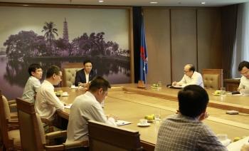 PVN cùng SSFC thúc đẩy tiến độ hợp tác vận hành Nhà máy Xơ sợi Đình Vũ