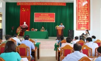 Đồng chí Trần Sỹ Thanh tiếp xúc cử tri tại huyện Văn Lãng, Lạng Sơn
