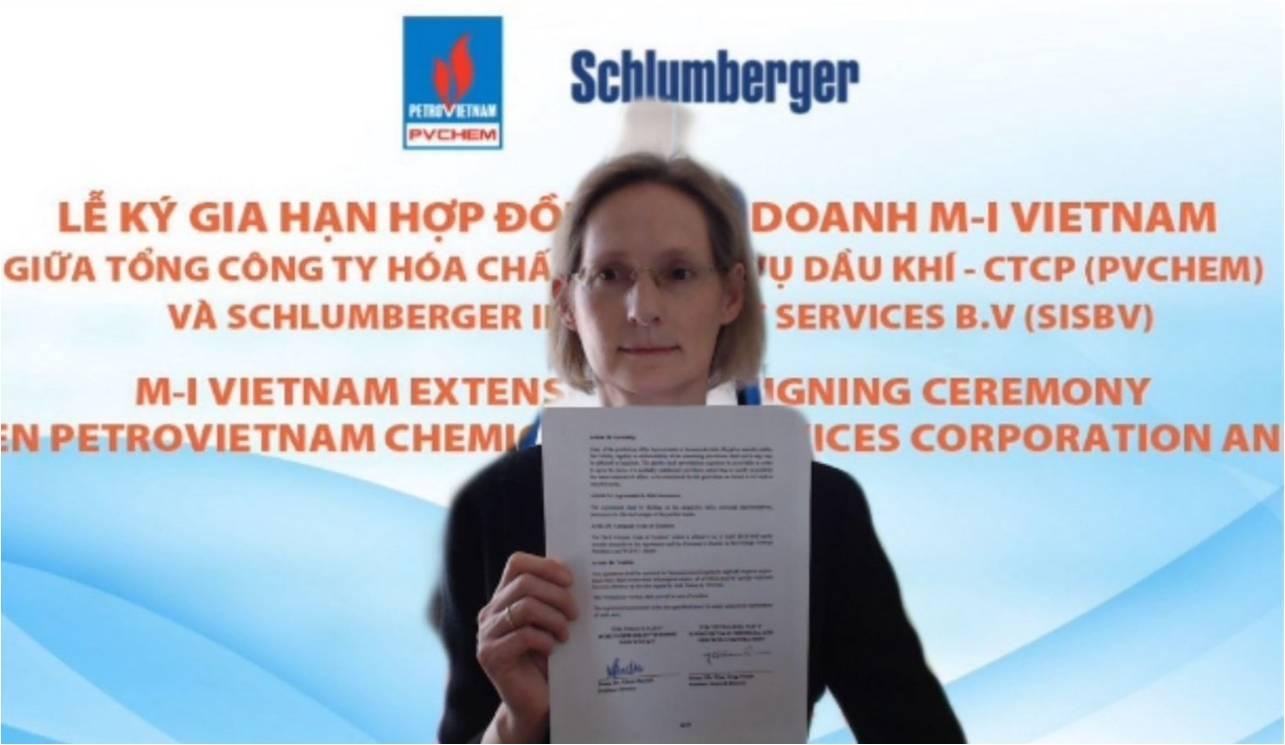 PVChem  và Schlumberger ký kết gia hạn hợp đồng liên doanh M-I Việt Nam thêm 10 năm